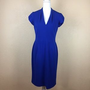 Betsey Johnson Cobalt Blue Career Dress Size 10